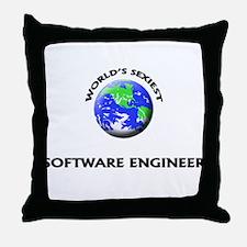 World's Sexiest Software Engineer Throw Pillow