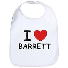 I love Barrett Bib