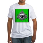 Cowardly Lion 1 Fitted T-Shirt