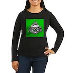 Cowardly Lion 1 Women's Long Sleeve Dark T-Shirt
