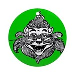 Cowardly Lion 1 Ornament (Round)