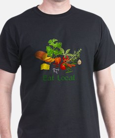 Eat Local Grown Produce T-Shirt