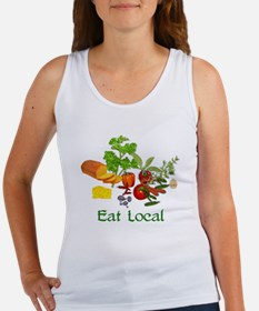 Eat Local Grown Produce Women's Tank Top