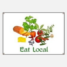 Eat Local Grown Produce Banner