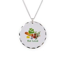 Eat Local Grown Produce Necklace