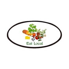 Eat Local Grown Produce Patches