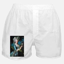 Marie Antoinette with Rose Boxer Shorts