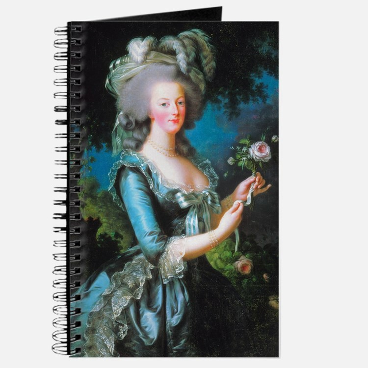 Marie Antoinette with Rose Journal
