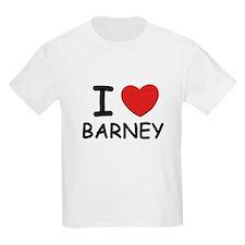 I love Barney Kids T-Shirt