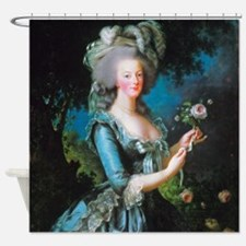 Marie Antoinette with Rose Shower Curtain