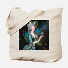 Marie Antoinette with Rose Tote Bag