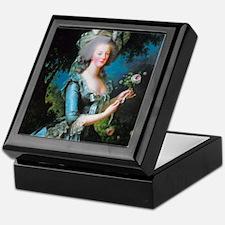 Marie Antoinette with Rose Keepsake Box