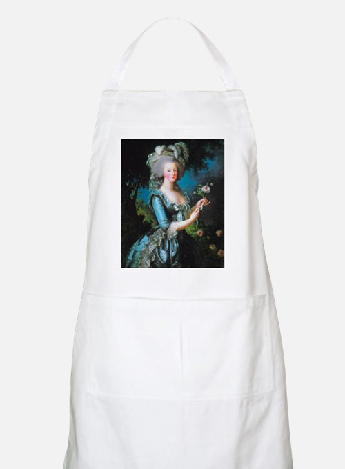 Marie Antoinette with Rose Apron