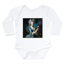 Marie Antoinette with Long Sleeve Infant Bodysuit