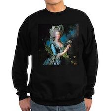 Marie Antoinette with Rose Sweatshirt