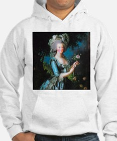 Marie Antoinette with Rose Hoodie Sweatshirt