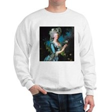 Marie Antoinette with Rose Sweater