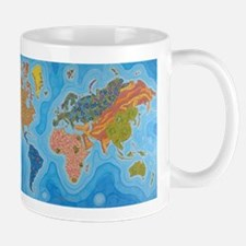 The Map of Health Small Mug