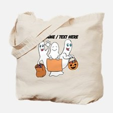 Personalized Trick Or Treating Ghosts Tote Bag