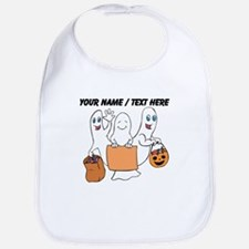 Personalized Trick Or Treating Ghosts Bib