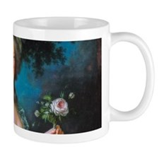 Marie Antoinette with Rose Mug