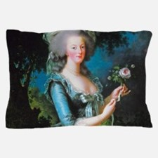 Marie Antoinette with Rose Pillow Case