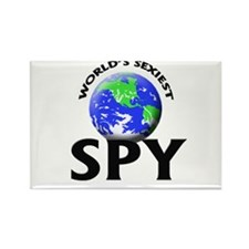 World's Sexiest Spy Rectangle Magnet