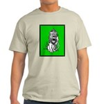 Cowardly Lion 2 Ash Grey T-Shirt