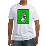 Cowardly Lion 2 Fitted T-Shirt
