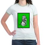 Cowardly Lion 2 Jr. Ringer T-Shirt