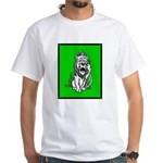 Cowardly Lion 2 White T-Shirt