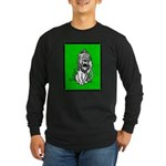 Cowardly Lion 2 Long Sleeve Dark T-Shirt