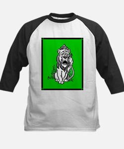 Cowardly Lion 2 Kids Baseball Jersey