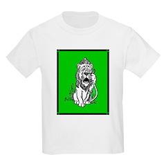 Cowardly Lion 2 Kids T-Shirt