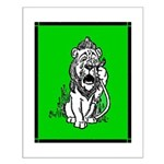Cowardly Lion 2 Small Poster