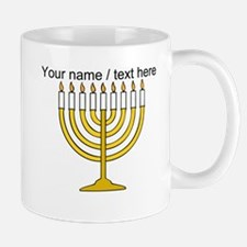 Personalized Menorah Candle Mug