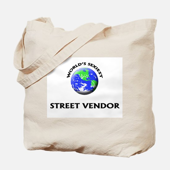 World's Sexiest Street Vendor Tote Bag