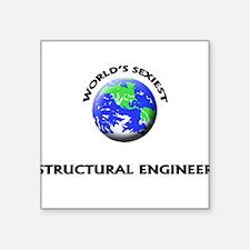 World's Sexiest Structural Engineer Sticker