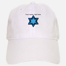 Personalized Blue Star Of David Baseball Baseball Baseball Cap