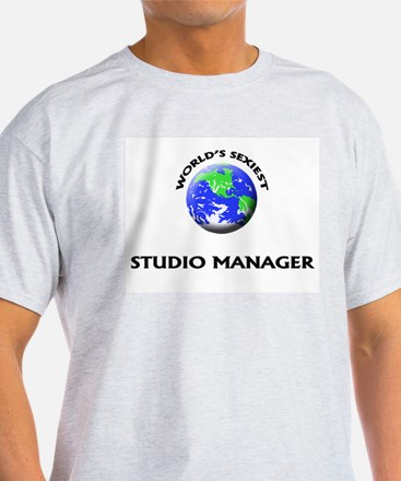 World's Sexiest Studio Manager T-Shirt