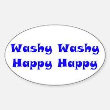 Washy Washy Decal