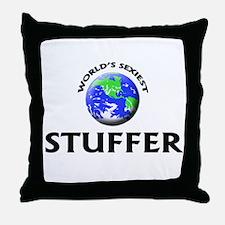 World's Sexiest Stuffer Throw Pillow