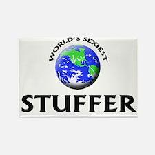 World's Sexiest Stuffer Rectangle Magnet