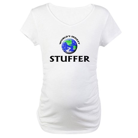World's Sexiest Stuffer Maternity T-Shirt