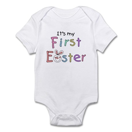 It's My First Easter Infant Bodysuit