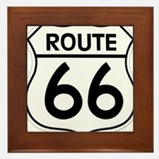 Route 66 Framed Tile