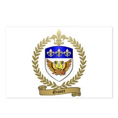 GIONET Family Crest Postcards (Package of 8)