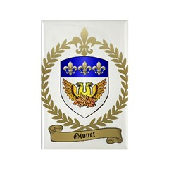GIONET Family Crest Rectangle Magnet (100 pack)