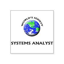 World's Sexiest Systems Analyst Sticker