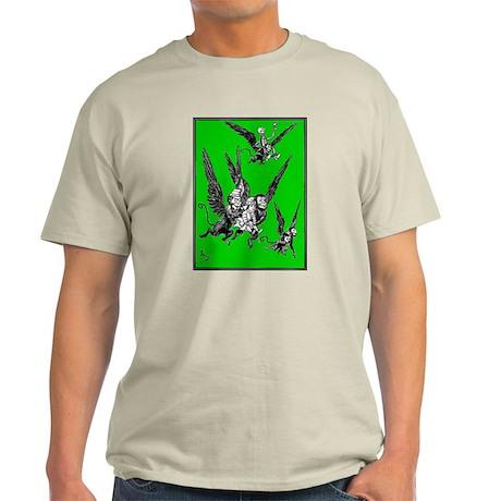 Dorothy & Flying Monkeys Ash Grey T-Shirt